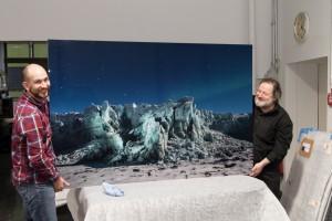 Sven und Erwin Rittenschober, Fineart Experte bei ChromeArt